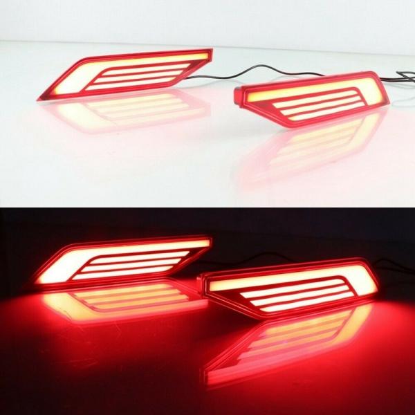 Car LED Brake Light Night DRL for Mitsubishi Pajero Sport Montero Sport 2020+
