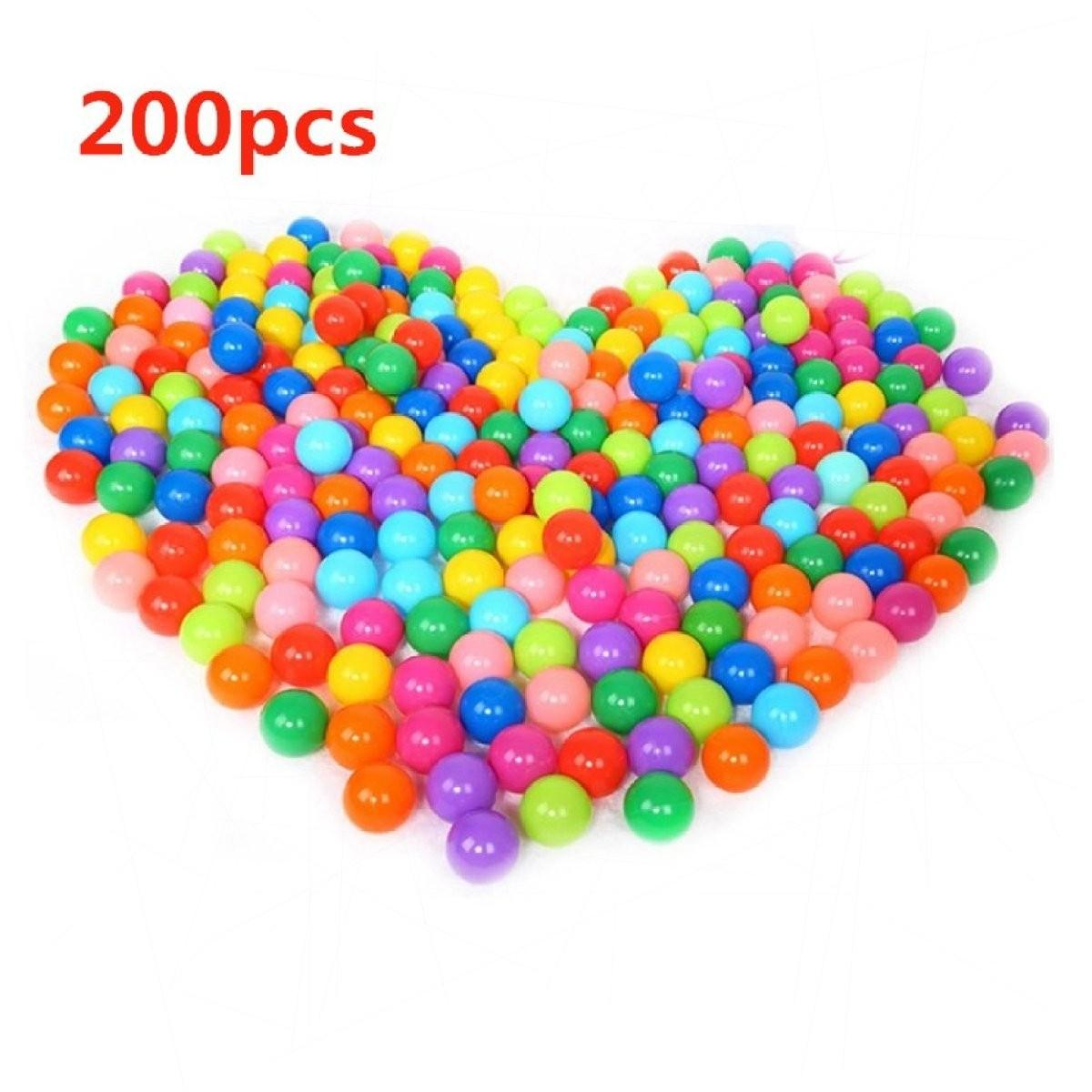 fe23e9ebffd5fe YBC 200pcs Ocean Ball Superior Toy Baby Kid Swim Fun Colorful Soft Plastic  Ball (MY