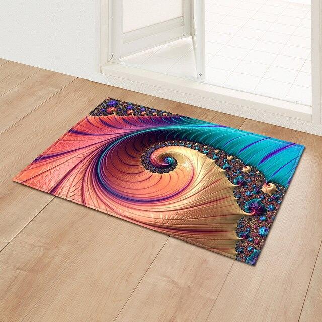 3D Crazy Pirate Skele Bedroom Bathmat Rug Waterproof Floor Cover Carpet Abstract