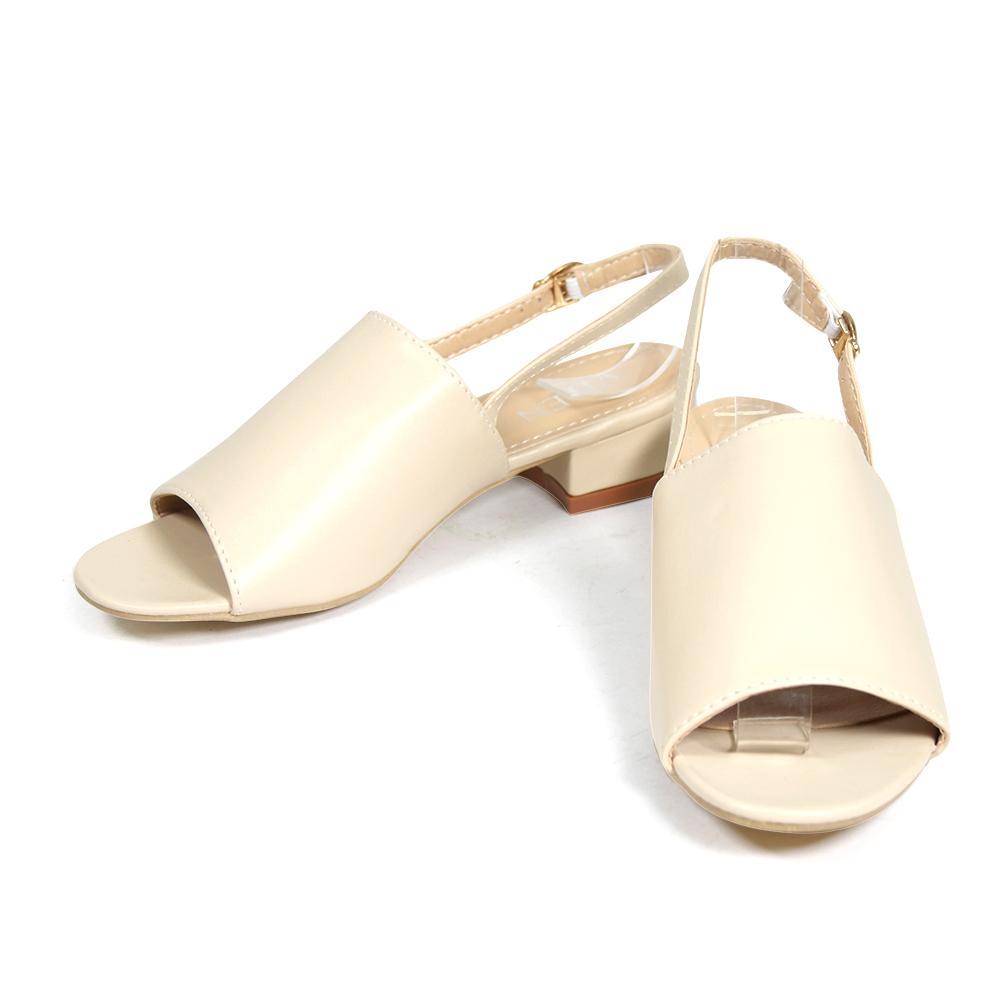 9819-A5 Low Heels Sandals Vden By Qte Online Shop.