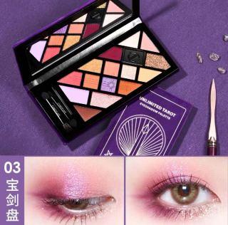 Kyoyouchu 14 Màu Phấn Mắt 14 Màu Matte Ngọc Trai Trái Đất Màu Phấn Mắt Nude Tự Nhiên Của Phụ Nữ Lắc Trong Gió thumbnail