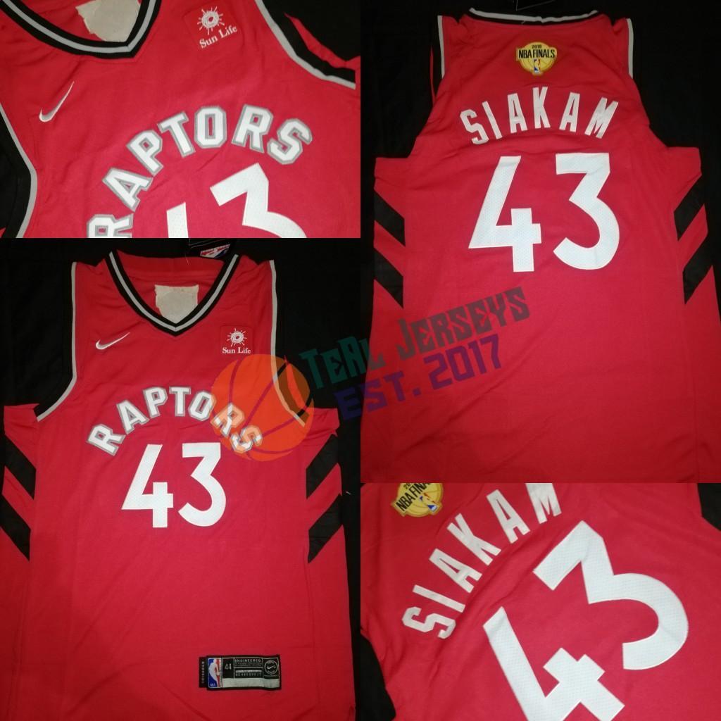 on sale 6b205 0e46a Pascal Siakam Toronto Raptors Jersey