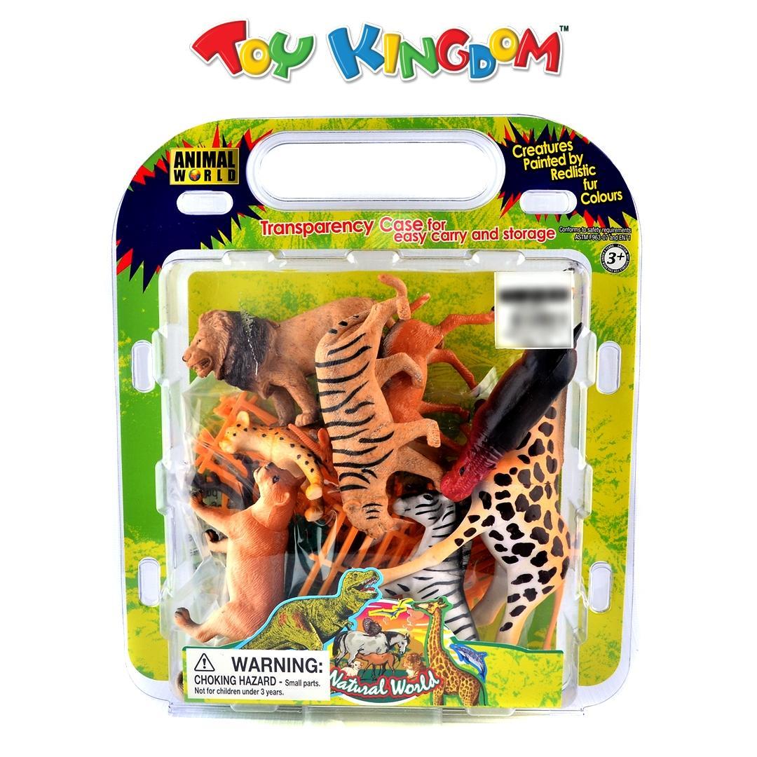 a815cf3e Animal World Natural World Wild Animal Figures Playset for Kids
