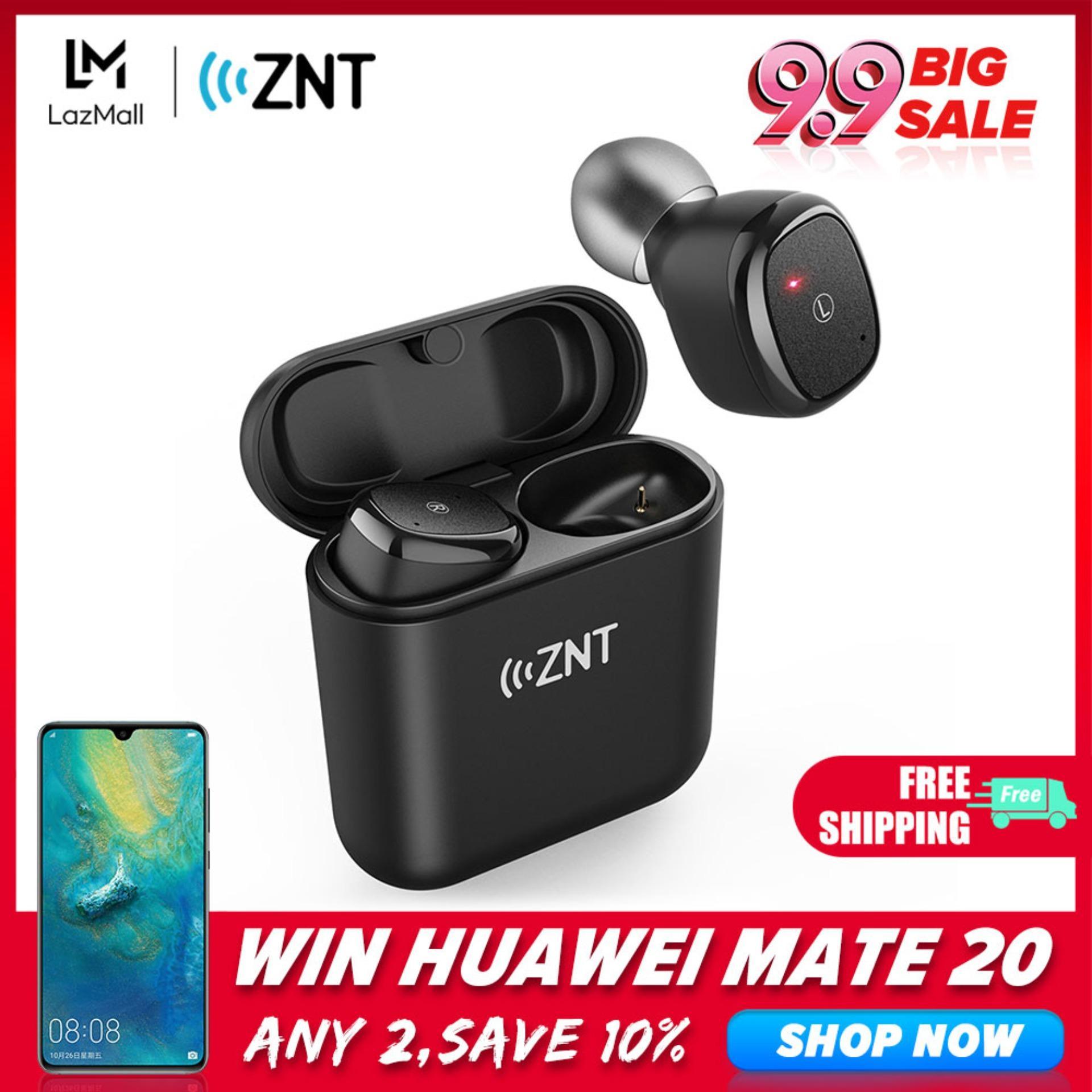ZNT D06-L True Wireless Earbuds with Bluetooth 5 0 and Hi-Fi Sound Quality