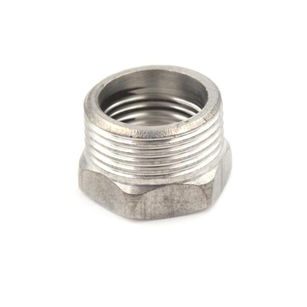 Potey SS 201 3/4  Male x 1/2  Female Thread Reducer Bushing Pipe Fitting NPT