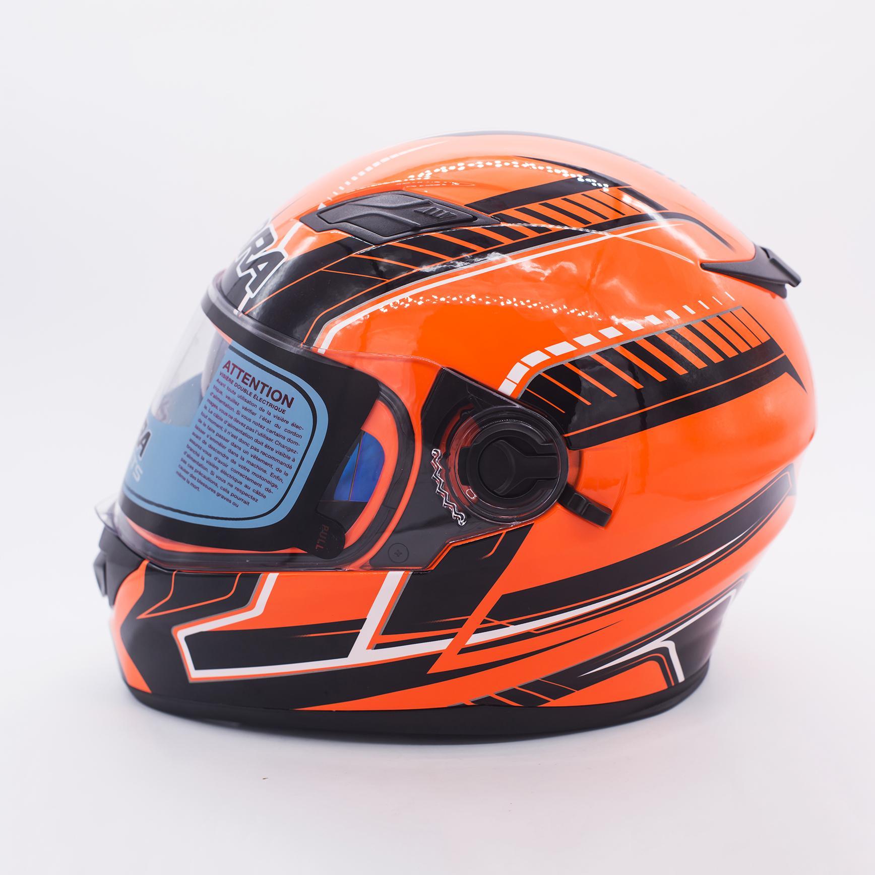 c3a8fddf Product details of ZEBRA FF655 Full Face Dual Visor Helmet