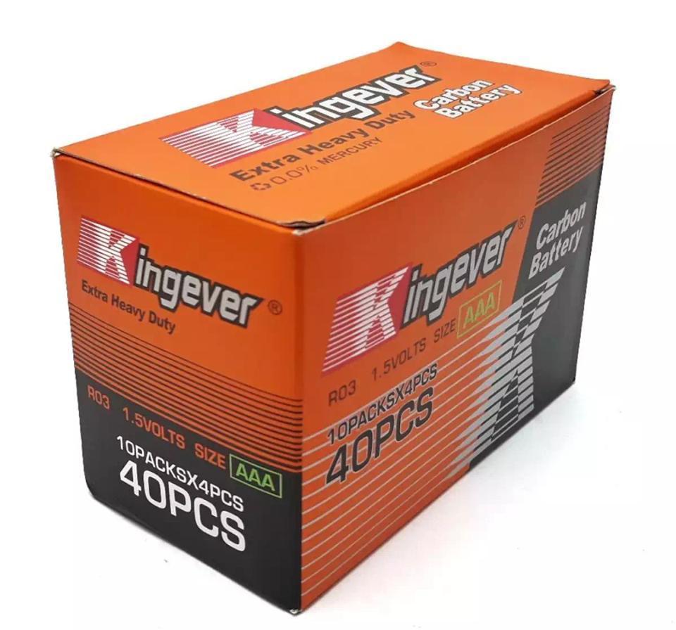 Kingever Extra Heavy Duty AA Battery 1 Box
