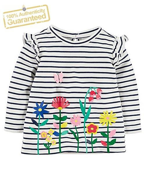Carters Floral Flutter Tunic [12m] By Chillax Shoppe.