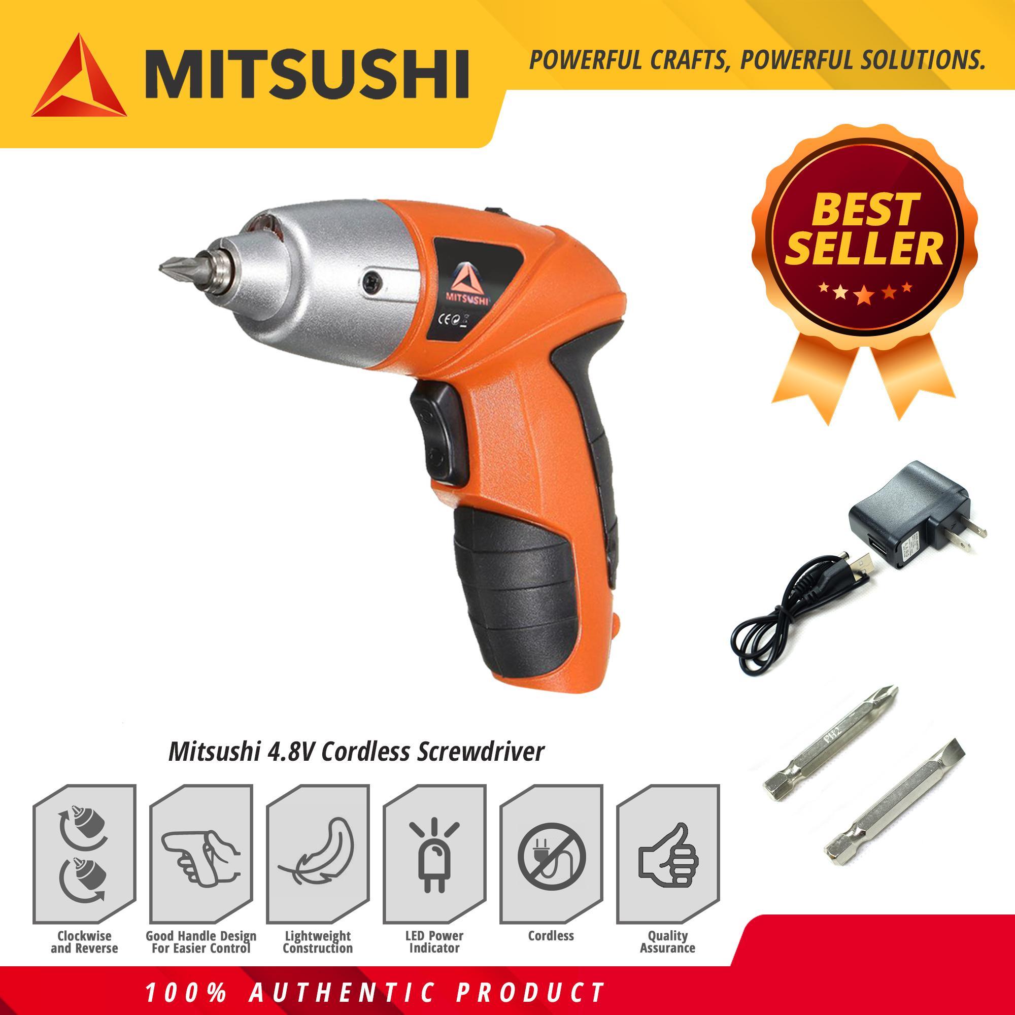 Mitsushi 4 8V Cordless Screwdriver