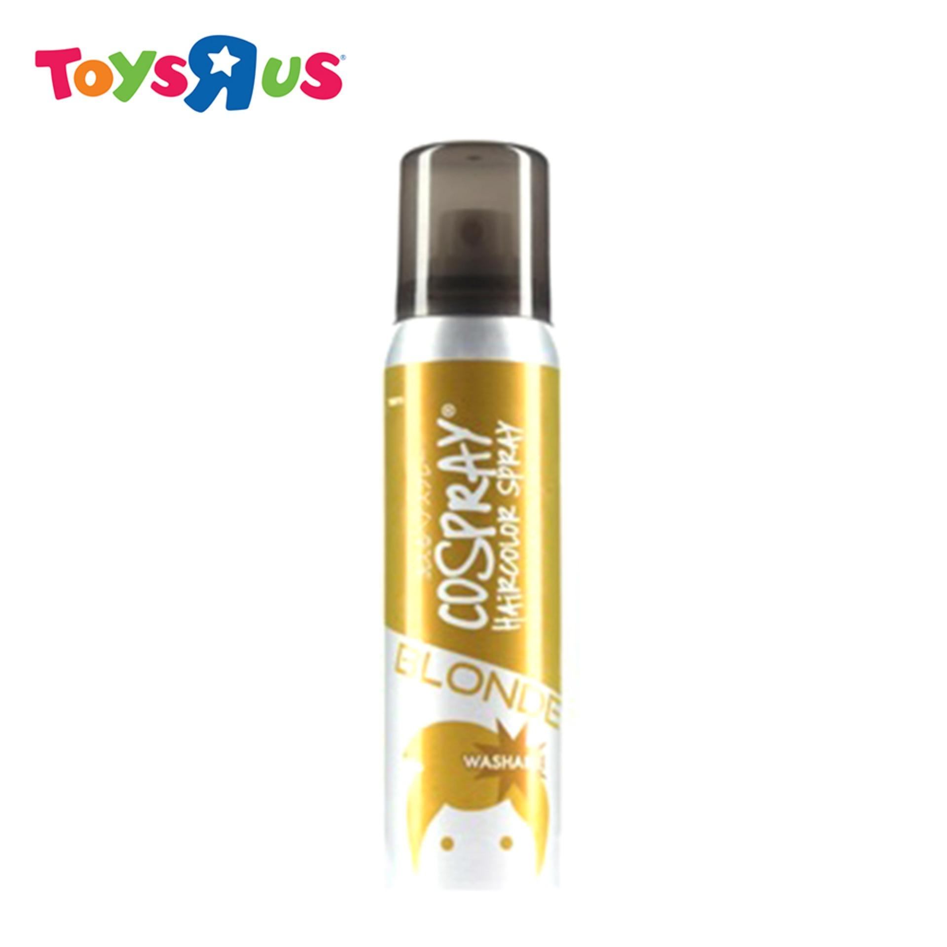 Cospray Washable Hair Color Spray (blonde) By Toys R Us.