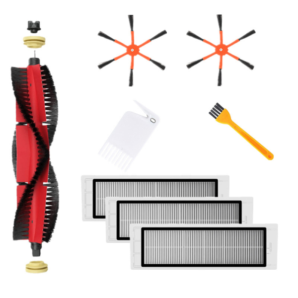 Bảng giá 1xDetachable Main Brush+2xOrange 6-Arm Side Brush+3xFilter+2xCleaning Brush for xiaomi / Roborock S50 S51 S55 S5 S6 Robot Vacuum Cleaner Điện máy Pico