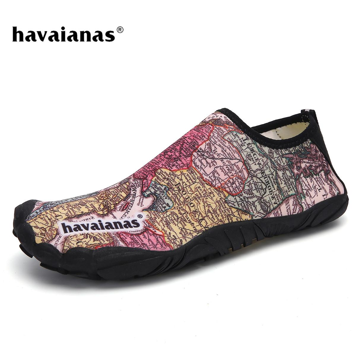 f79c6634e2048e 【Free Shipping】Havaianas_Five Fingers Shoes Unisex Aqua Shoes Water Shoes  Men Shoes Women Beach