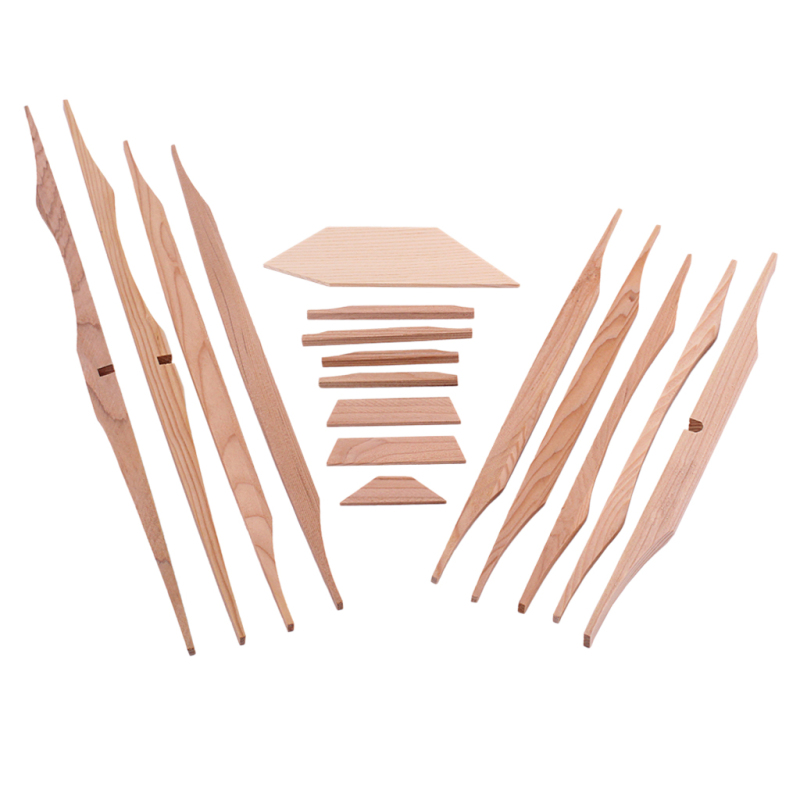 17Pcs Spruce Brace Wood Kit Light Brown Professional 41 Inch Guitar Parts Luthier DIY Kit Wood Kit for Guitar Malaysia