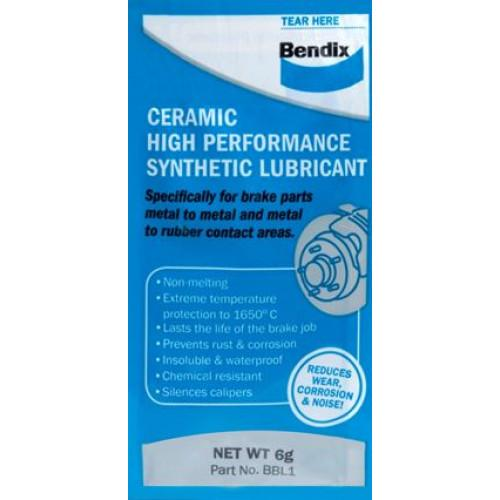 Bendix Ceramic High Performance Break Part Lubricant (6g Sachet Single) By Jai Trading.