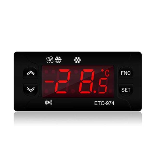 ETC-974 Mini Temperature Controller Refrigerator Thermostat Regulator Thermoregulator Thermocouple NTC Dual Sensor Malaysia