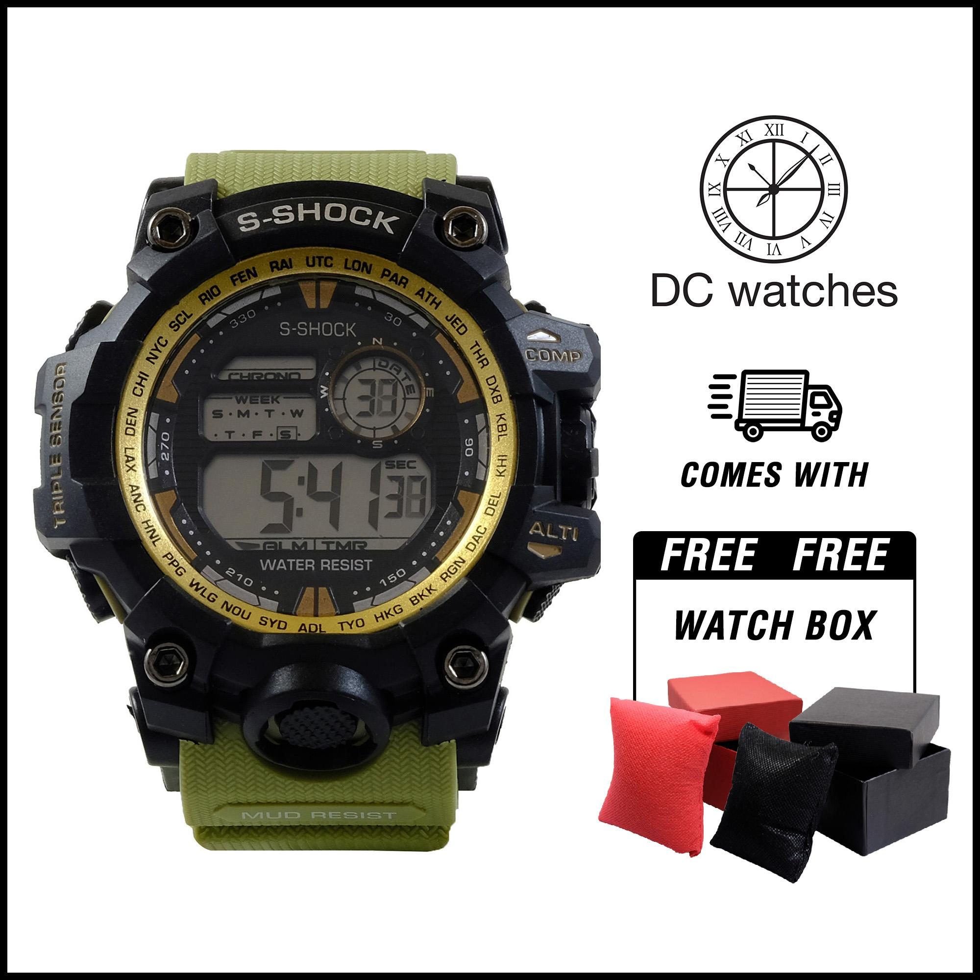 fc306db755 DC Watches S-shock World Time 9977 WATERPROOF watch for men watch for women  watches
