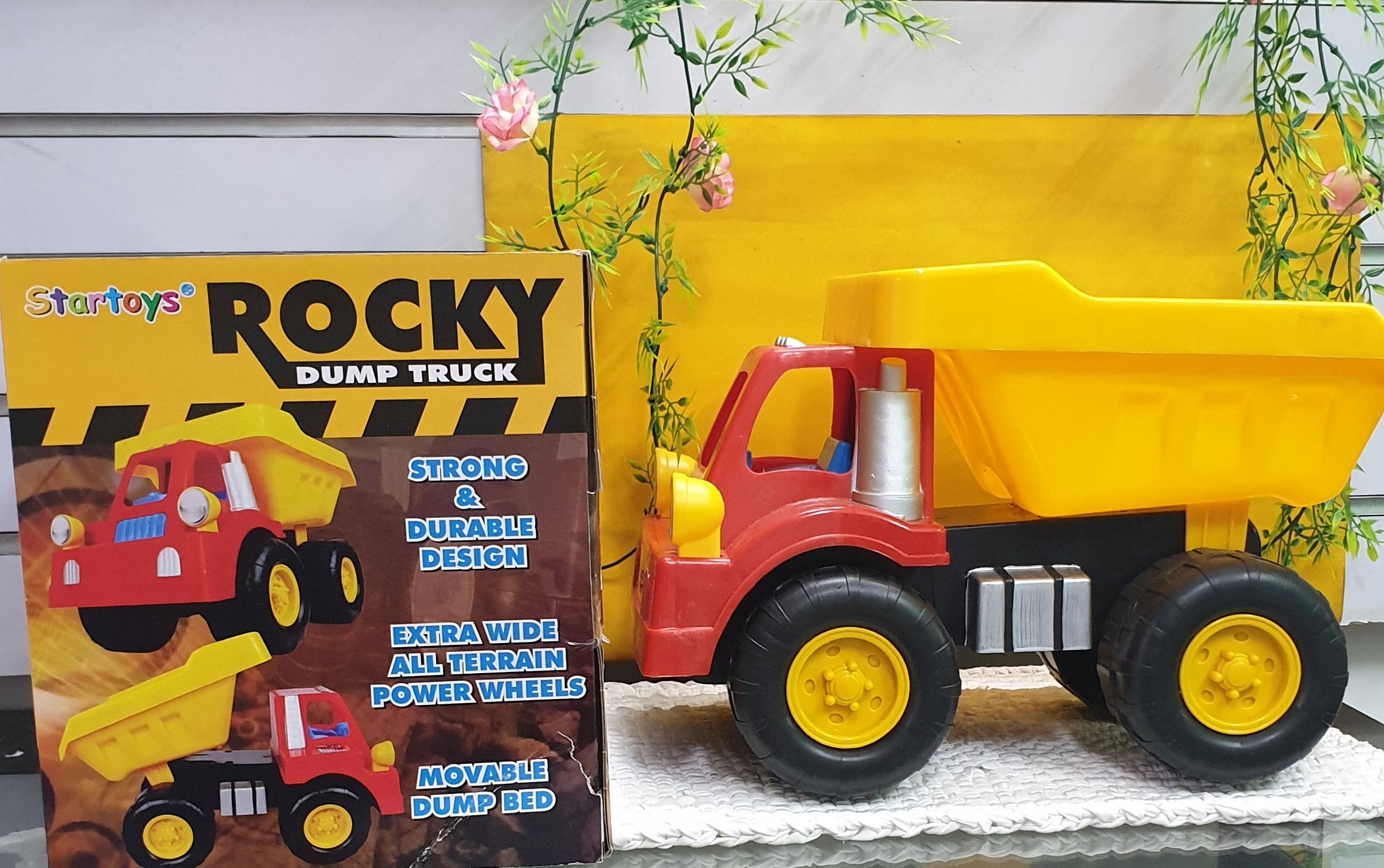 Rocky Dump Truck Toy Car Construction Engineering Heavy Duty Pull Back Big Lazada Ph