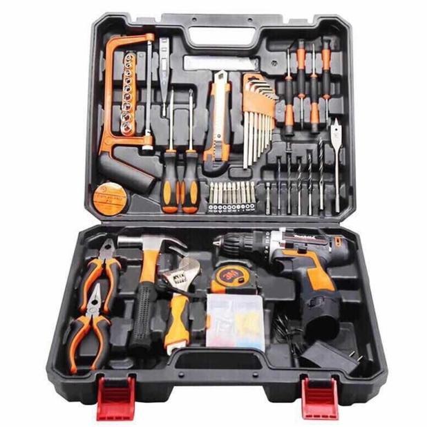 Oneshopping Makita 10mm Lithium Power Tools Set 12V Cordless Drill