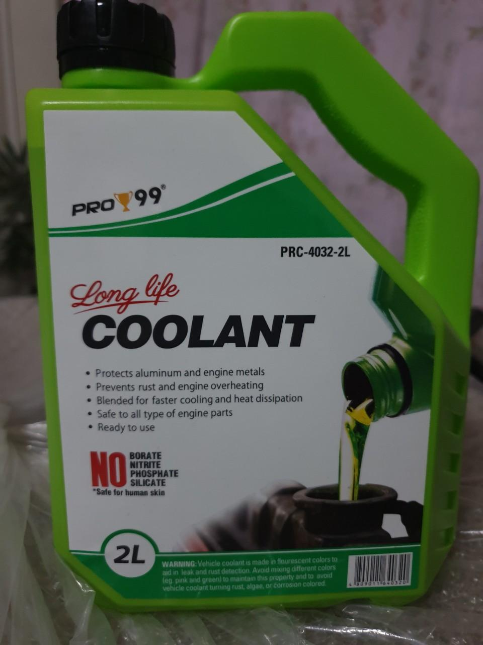 Pro-99 Radiator coolant 2 Liters Green