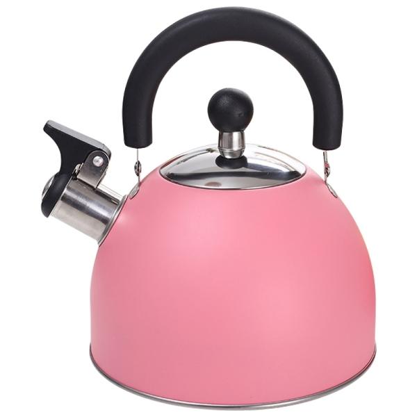 Stainless Steel Whistle Kettle, 2.5L Whistle Kettle, Coffee Milk Tea Kettle, Heating Kettle