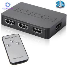 HDMI Splitter 3 Cổng Hub Box Tự Động Chuyển Đổi 3 Trong 1 Ra Switcher 1080P HD Với Điều Khiển Từ Xa Cho XBOX360 PS3 HDTV Chiếu