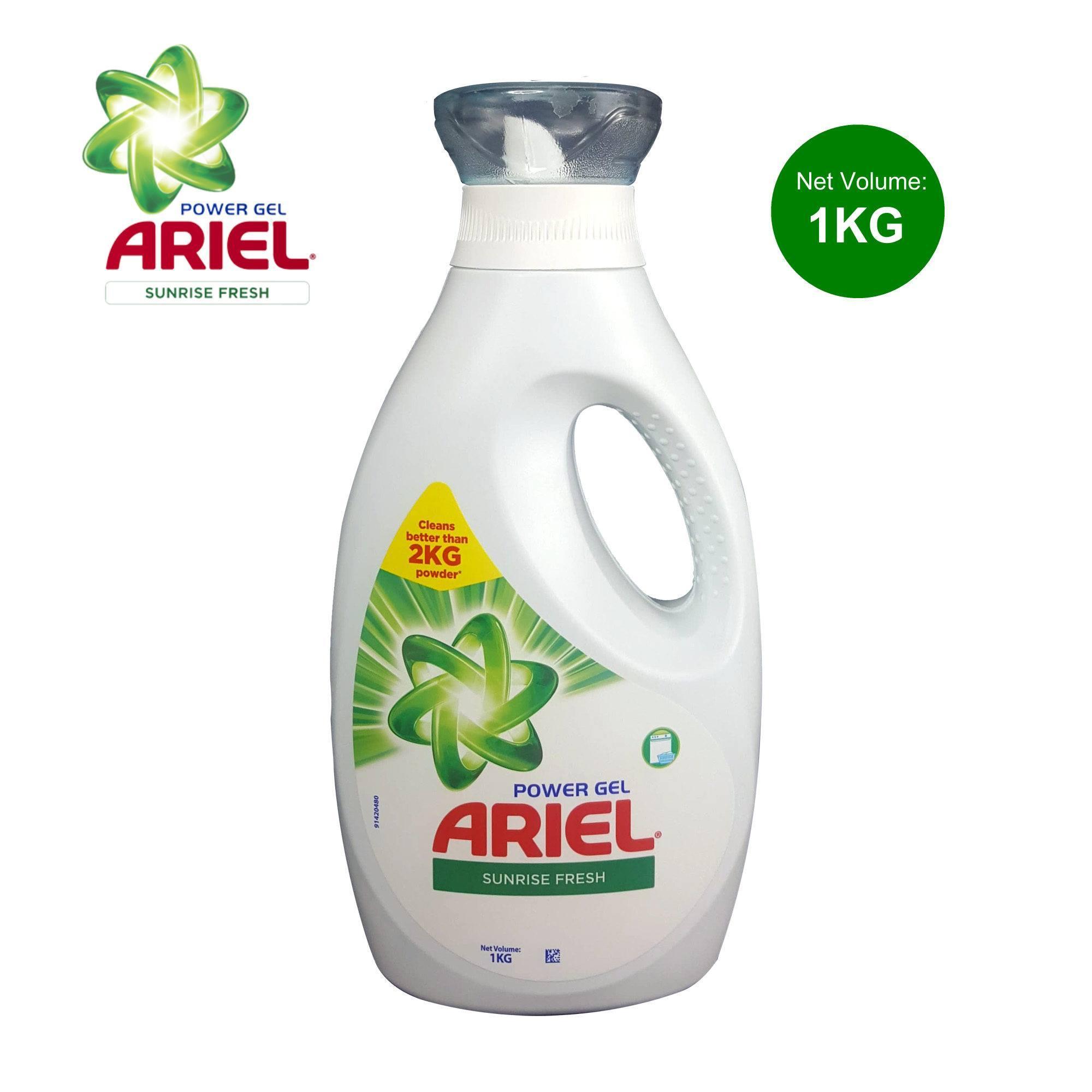 Ariel Power Gel Sunrise Fresh Liquid Detergent 1Kg