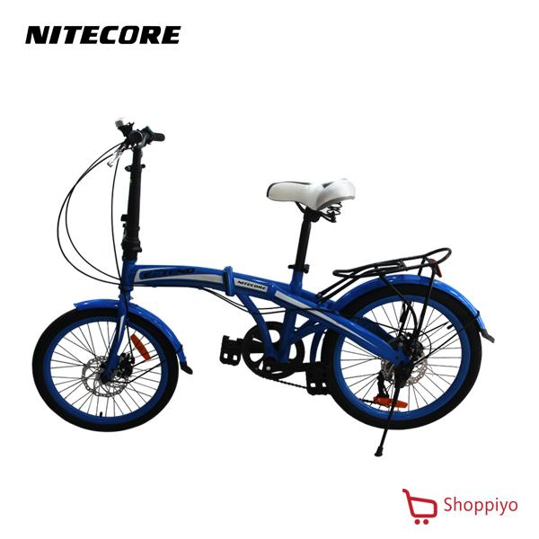 Nitecore Extend Bmx 20 Folding Steel Bike Blue