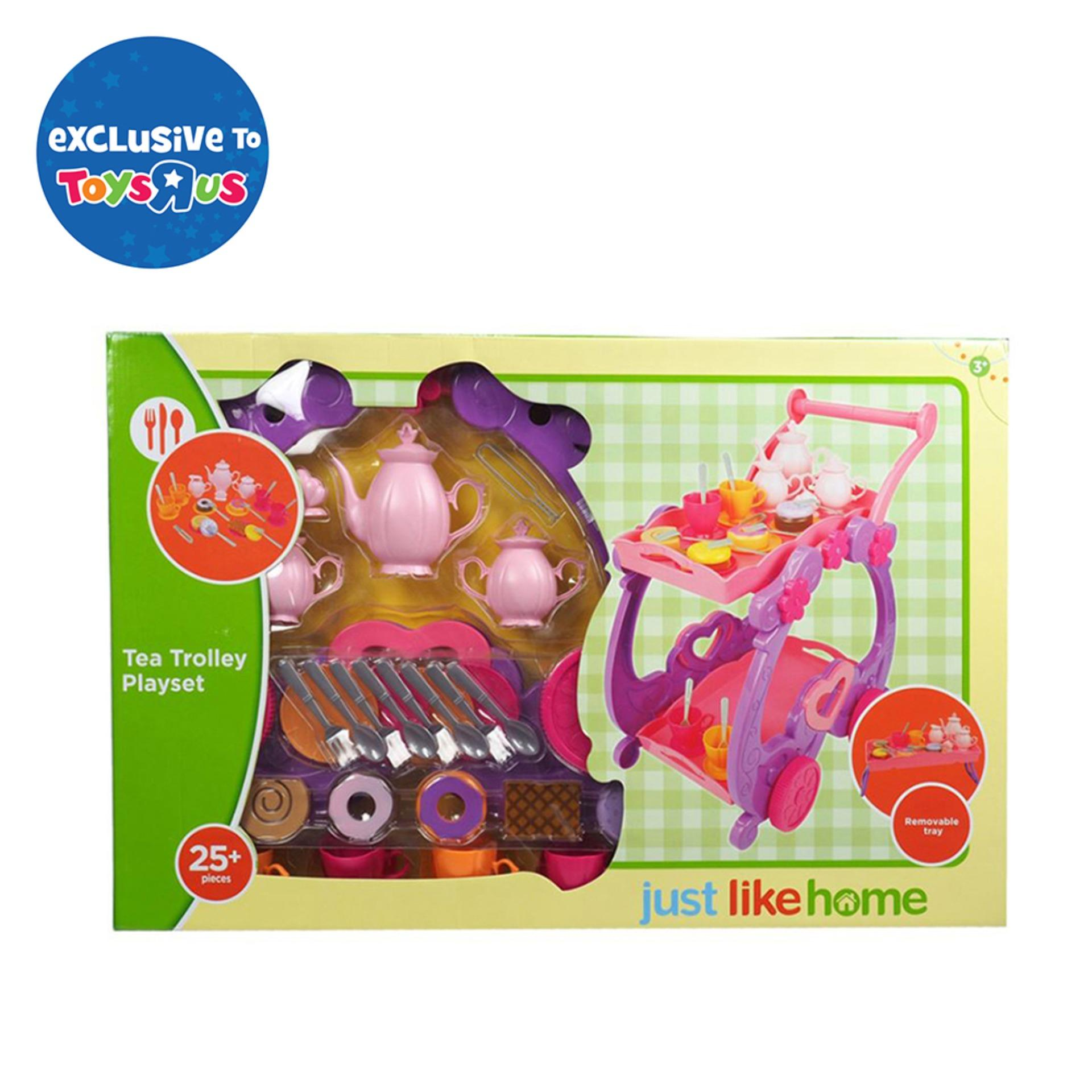 Just Like Home Trolley Playset