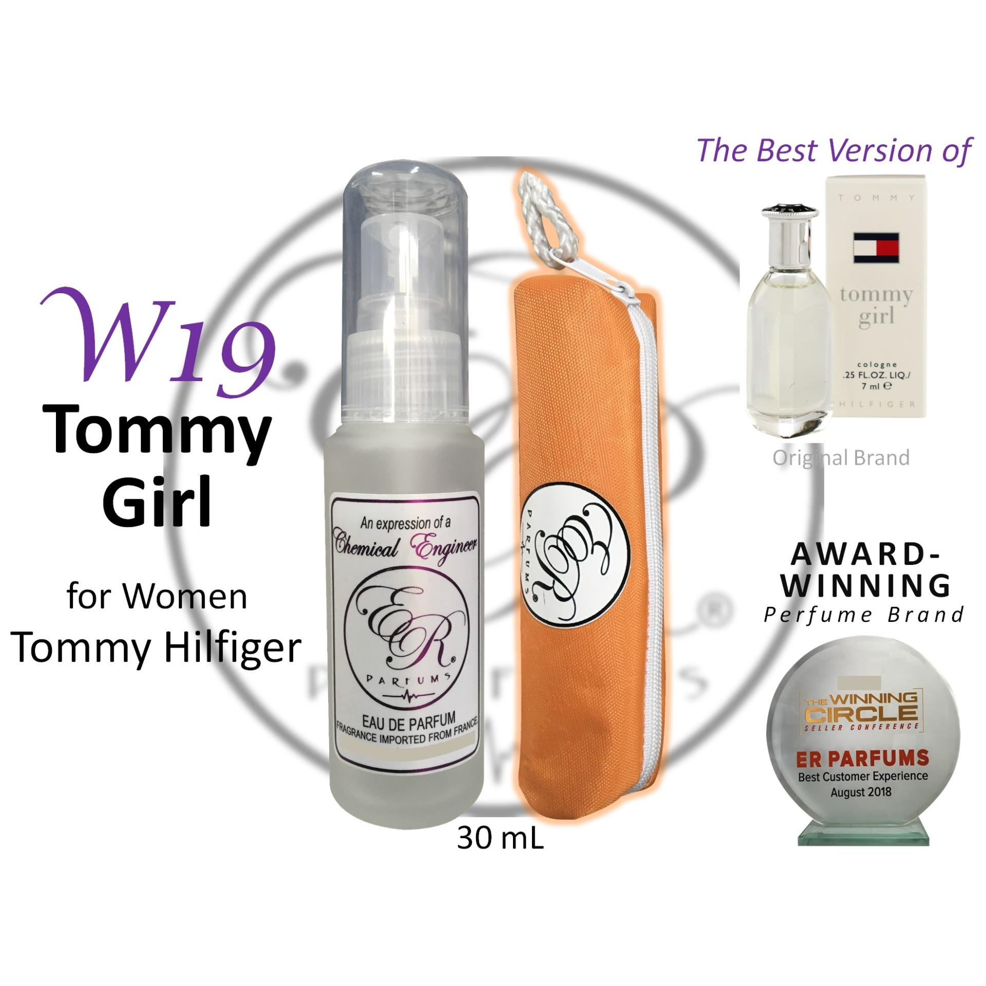 ER PARFUMS W19 Tommy Girl for Women by Tommy Hilfiger 1 piece 30 mL perfume with free pouch - BEST VERSION
