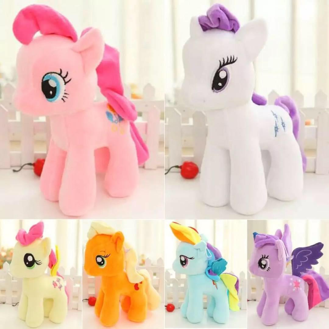 6fb0e06d688 Little Pony Stuffed Toy Plush Doll Set Kid Toys (random)todeliver colour)