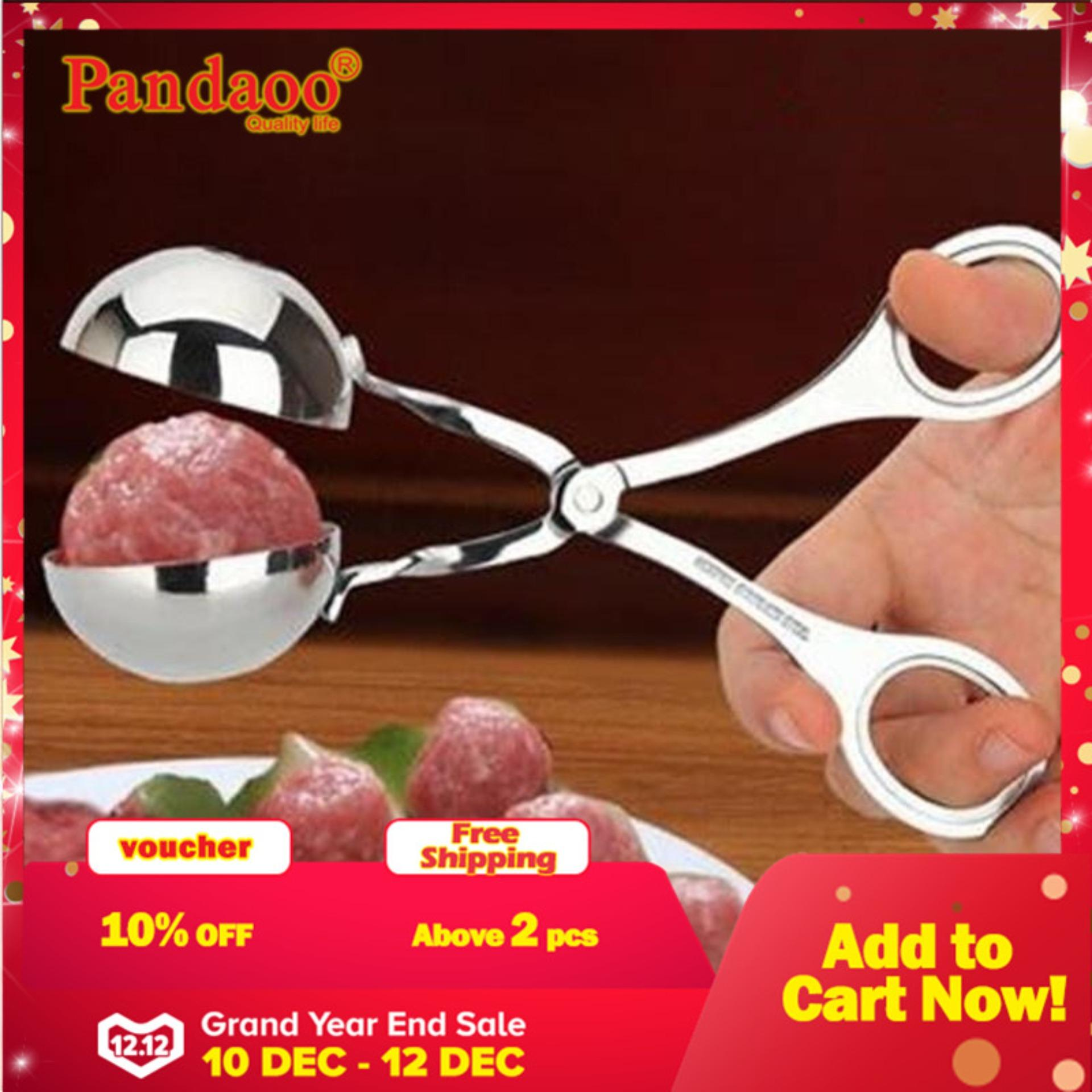 Non Stick Practical Meat Baller Cooking Tool Kitchen Meatball Scoop Ball Maker (xs Size: 3.3*3.3cm ) - Intl By Pandaoo Store.