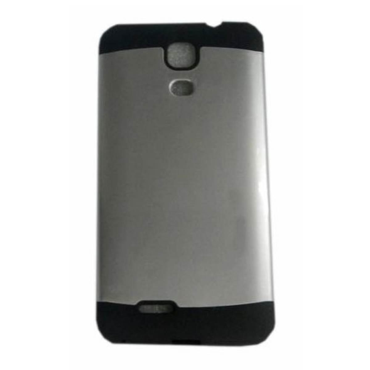 Slim Two Tone Hard TPU Case for Cherry Mobile Flare S4 (silver)