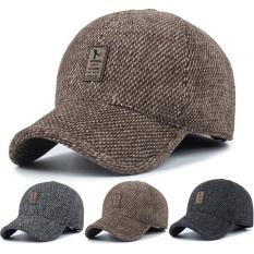 Blue's Shop Men Sport Mũ ngoài trời Mũ bóng chày Mũ lưỡi trai giản dị Mới mùa đông Golf Earmuffs