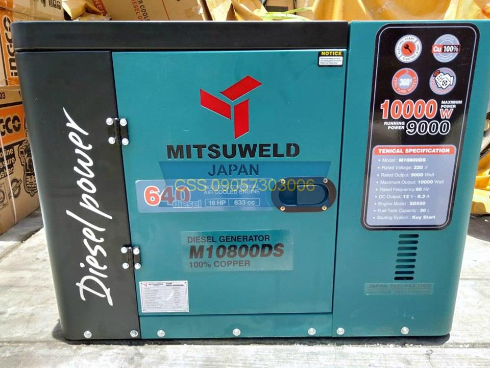 ALL NEW Mitsuweld Japan M10800DS 10kva Diesel Silent Type Generator - ATS  Ready