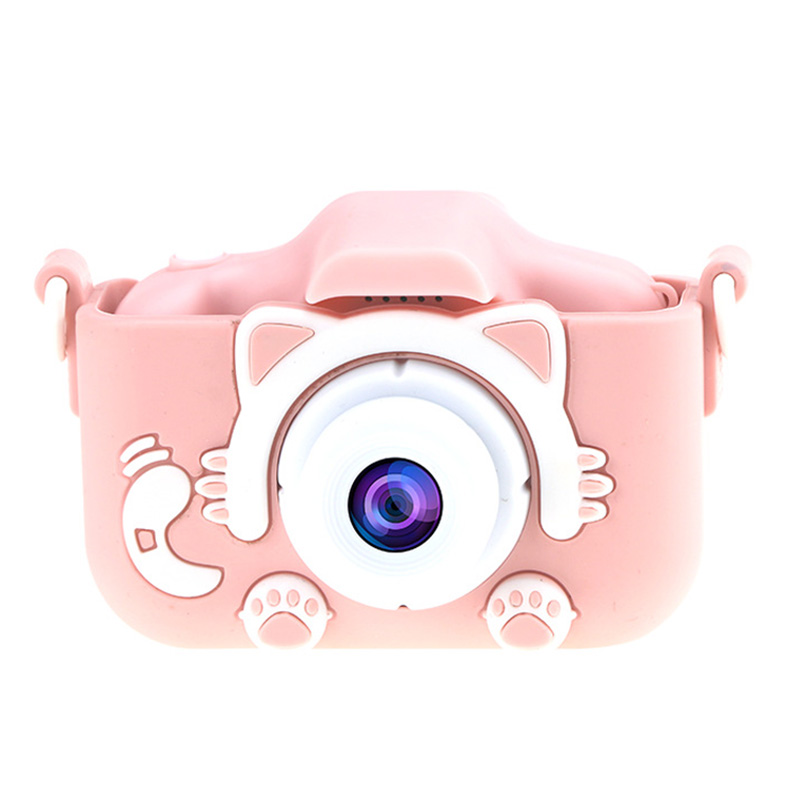2.0 Inch Hd Shockproof Kids Digital Camera Children Selfie Video Camcorder Toys Gifts For Girls Boys With 32 Gb Memory Card.