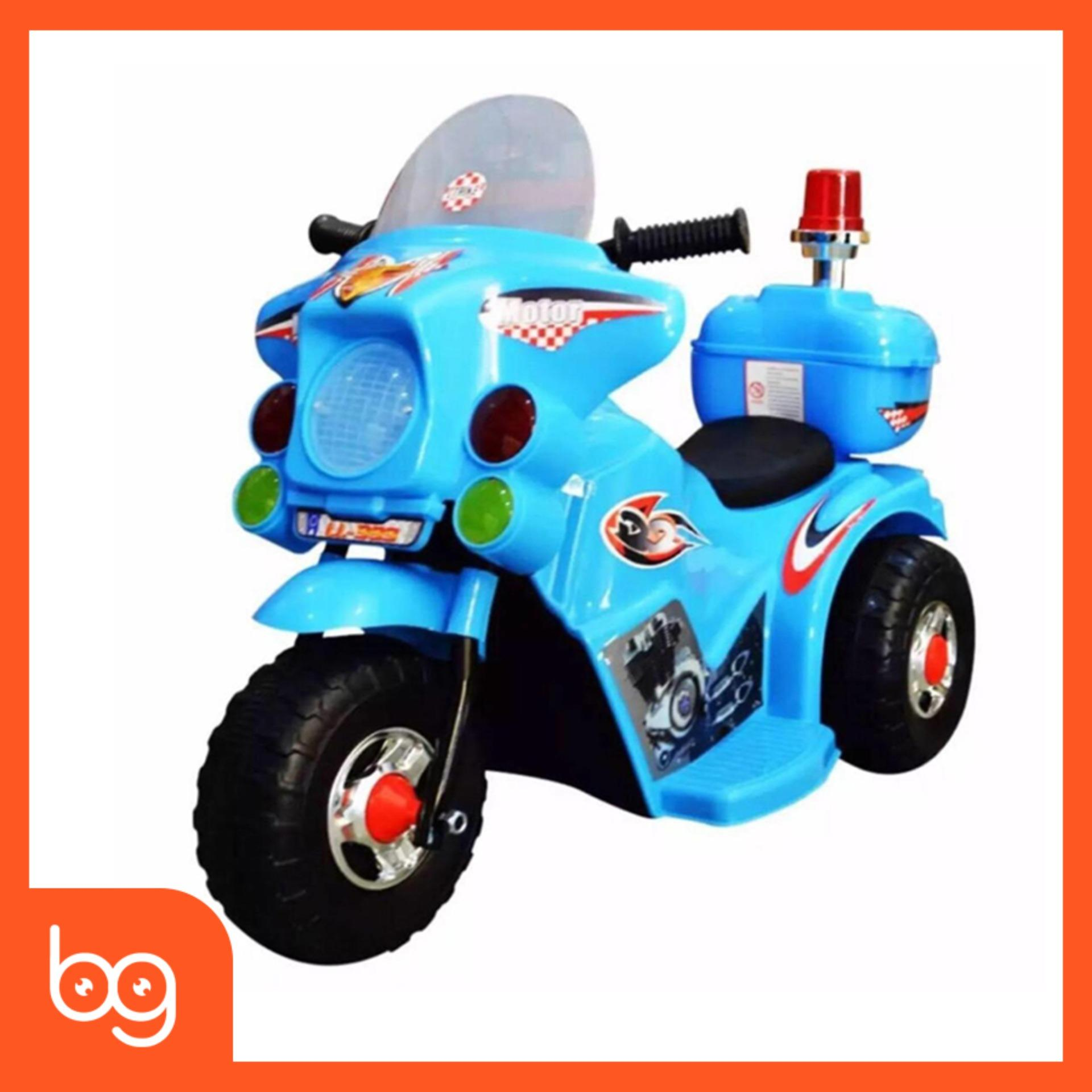Rechargeable Motorcycle Bike for Kids Ride-on Toys Police Motorcycle