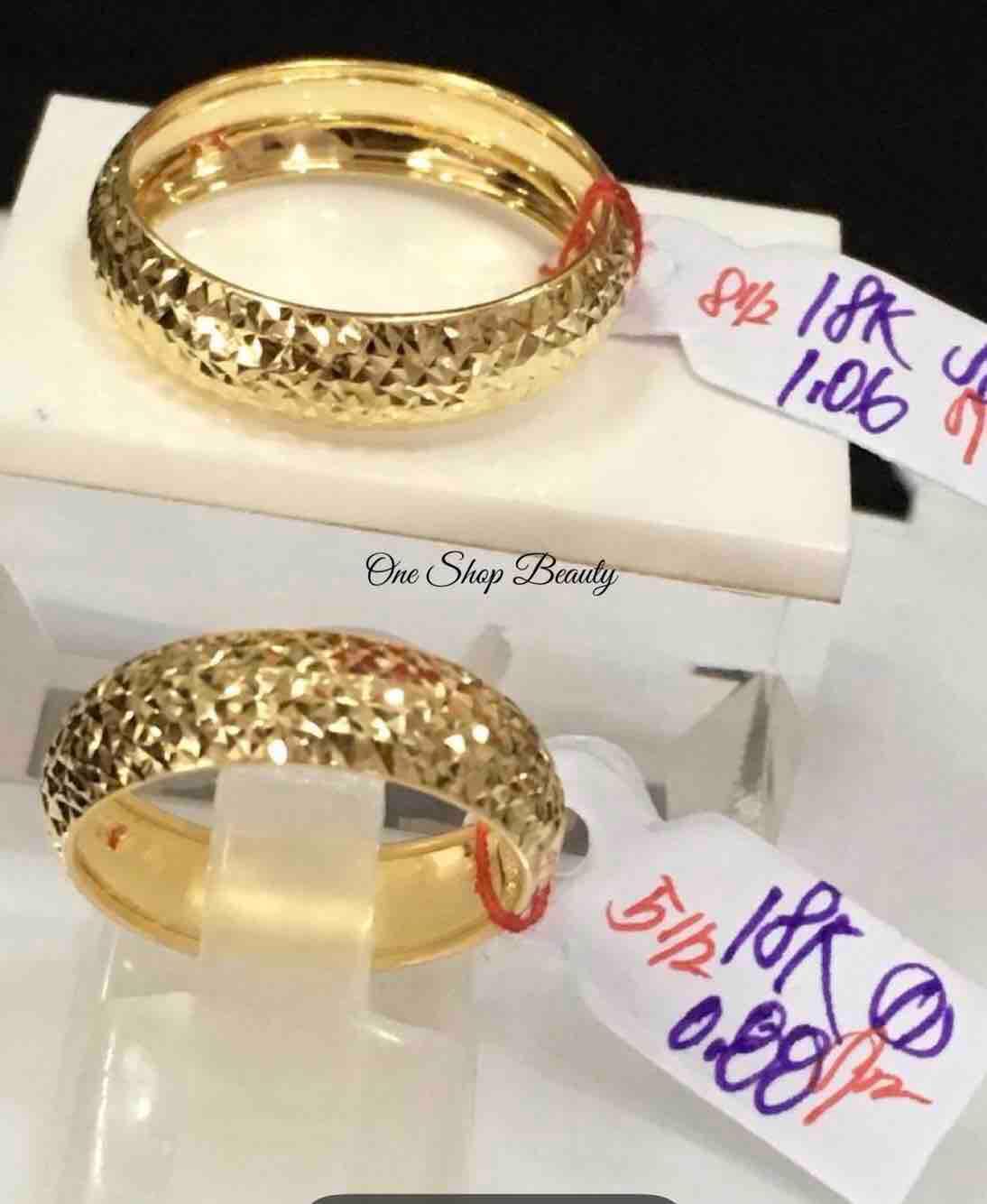 f10360e4aa499 18Karat Saudi Gold Wedding Ring (Pawnable)