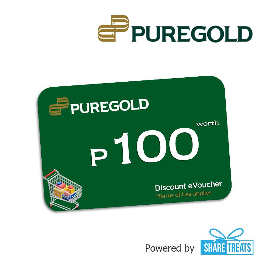 Puregold Php100 Worth (sms Evoucher) By Share Treats.