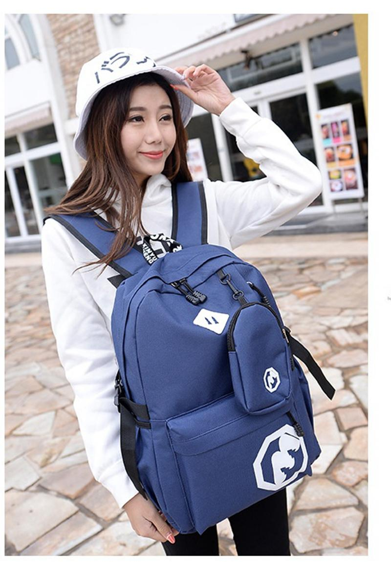 Clearance Sale !!! Pilot 7010 M Style Korean Fashion Style Canvas Casual Outdoor Student Backpack Bag By Pilot Luxury Travel Shop.