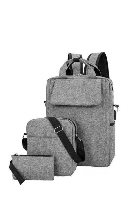 6b13c379af69 FS Korea Mens Fashion Backpack 3in1
