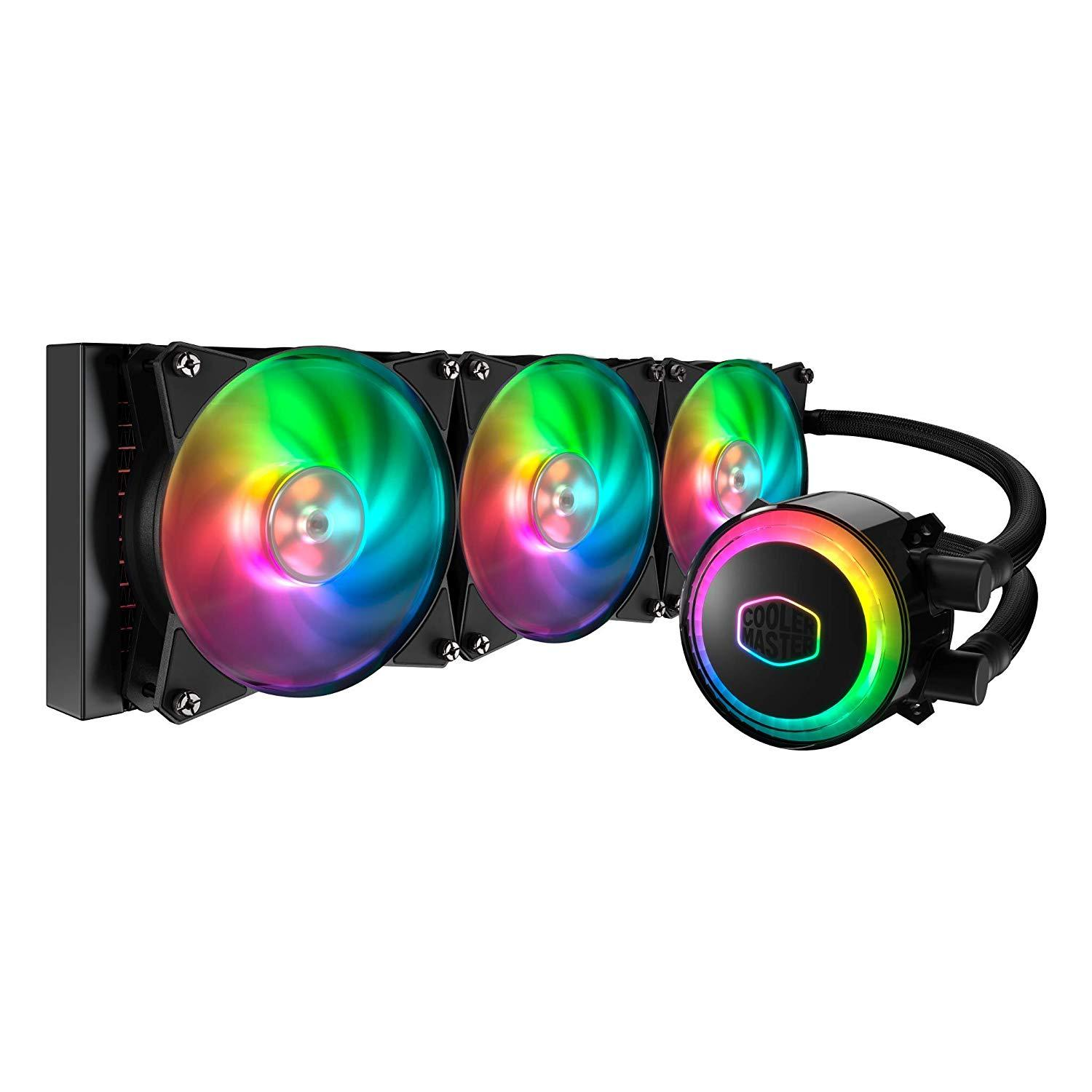 Cooler MasterLiquid ML360R RGB All-in-one Triple 120mm ARGB Fans CPU Liquid Cooler
