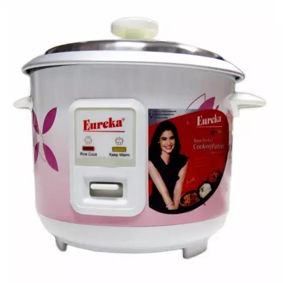 rice cooker 8(cups) eureka erc 1 5/ep (pink/floral white