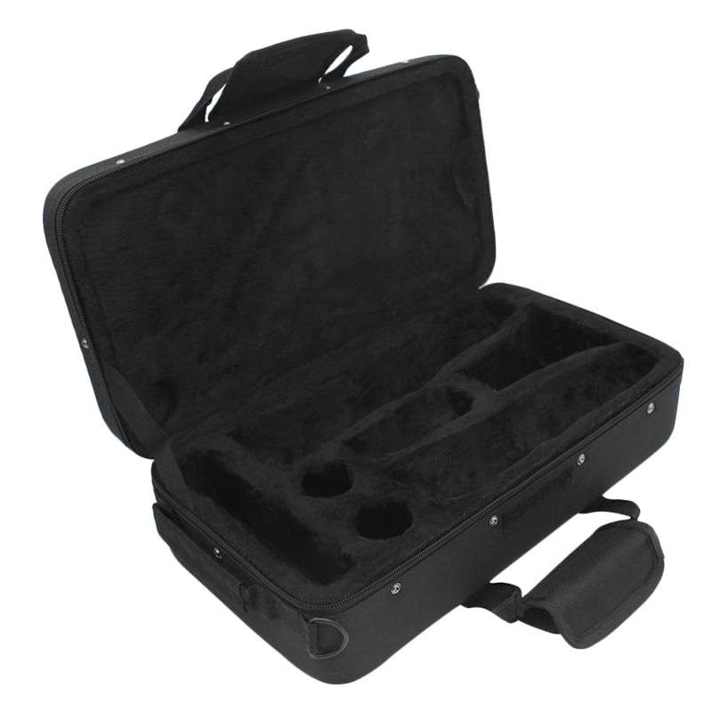 Clarinet Gig Bag Foam Padded Thicken Oxford Cloth Storage Bag Case with Carrying Strap Clarinet Accessories