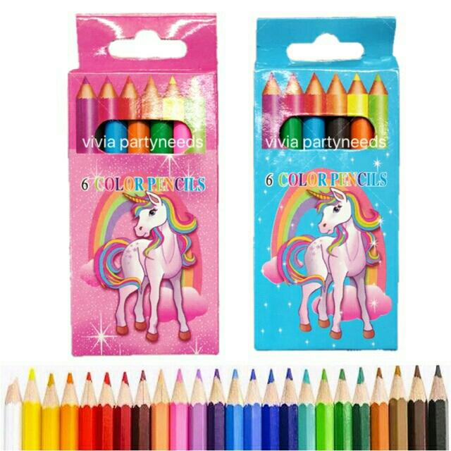Unicorn Mini Color Pencil By Ah K Asta Store.