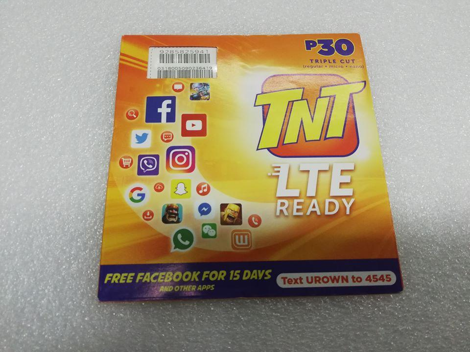 BPM TNT LTE Sim pack (tri-cut)