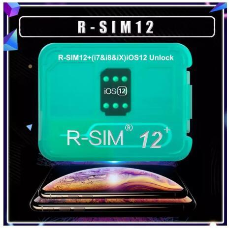 Sim12 + New Version Menu Version Perfectly Unlock the Global r SIM r-sim12  + Super Unlock Card Tag of the Phone X/8/7/6/6S/5/4G iOS 12 x R xsmax r-sim