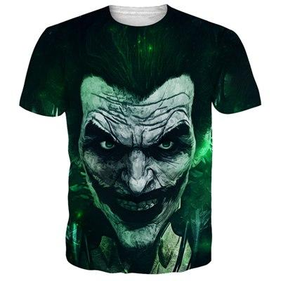 ed614b9d0 Product details of PLstar Cosmos 2017 New Funny Joker 3D T shirt Unisex  Casual Tee shirts Anmie Character Joker Print T-shirt Summer style tops