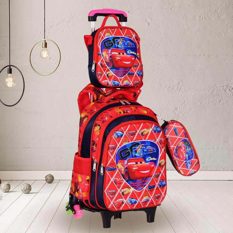 490d151d98d9 HANSCP BagsRetail 3in1 Kids Animated Characters for Boys Trolley Bag #CIT68