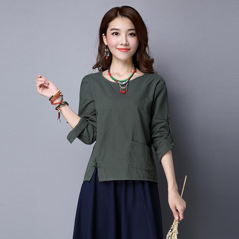 68bba8ef1f MIMZF Cotton Linen T-shirt women dress for women 2018 Spring Summer New  Style Frog