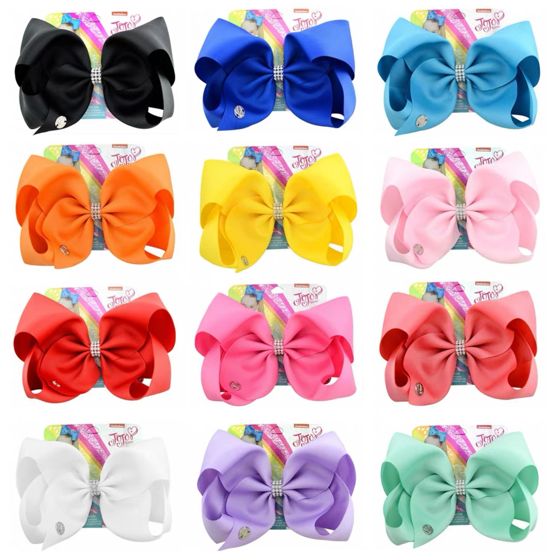 fab86de53e556 Jojo Siwa Rainbow and Unicorn Ribbon Hair Clip